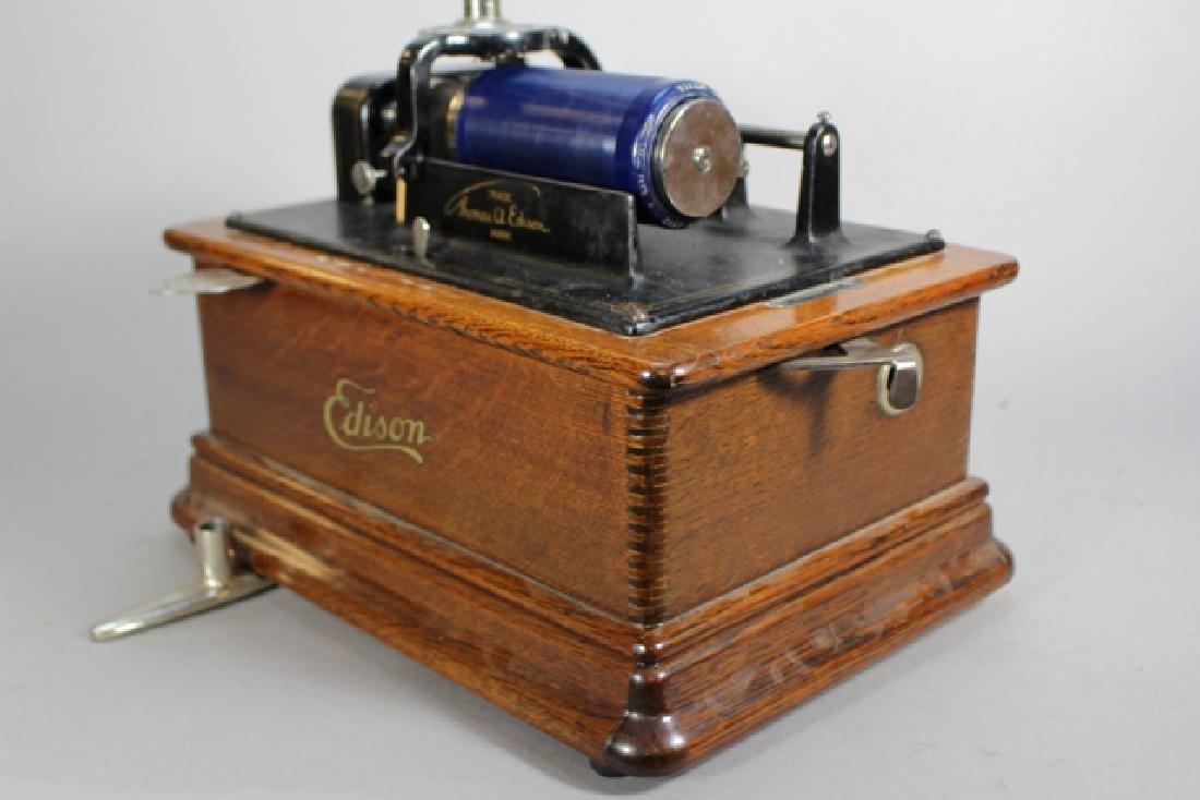 Edison Standard Phonograph Combination Type Model E - 5