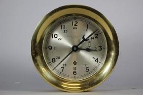 Chelsea Clock Co. Brass Ship's Bell Clock