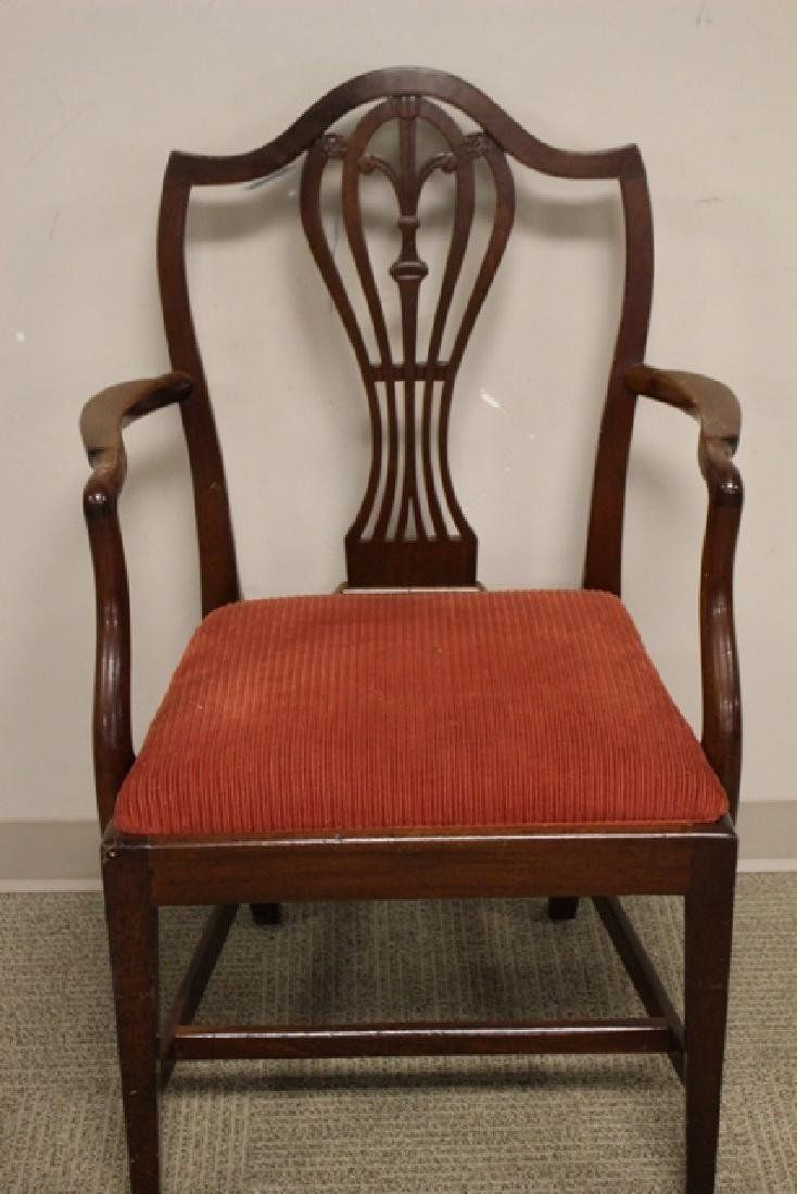 Early 19th Century Shield Back Arm Chair