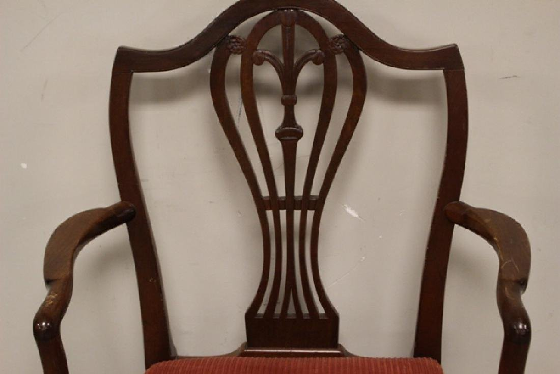 Early 19th Century Shield Back Arm Chair - 2