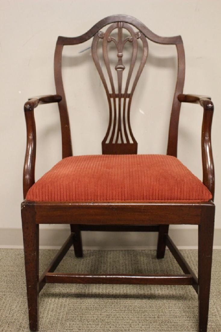 Early 19th Century Shield Back Arm Chair - 3