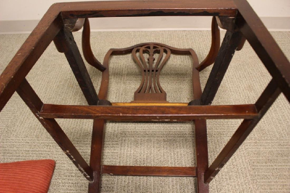 Early 19th Century Shield Back Arm Chair - 6