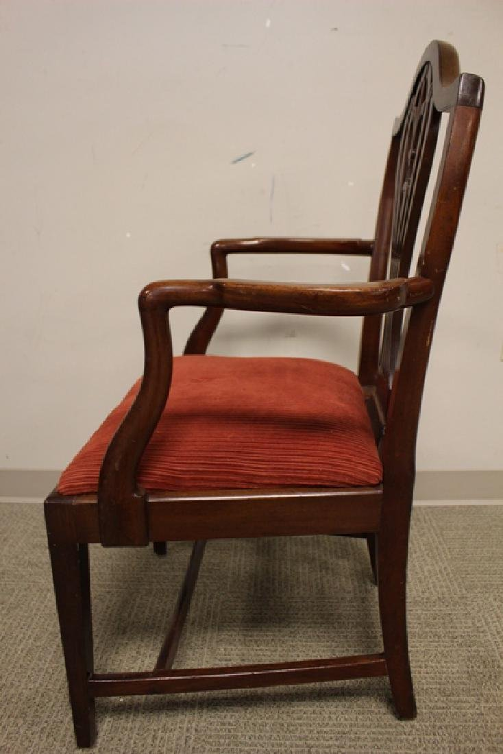 Early 19th Century Shield Back Arm Chair - 7
