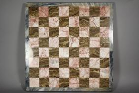 20th Century Italian Marble Game Board