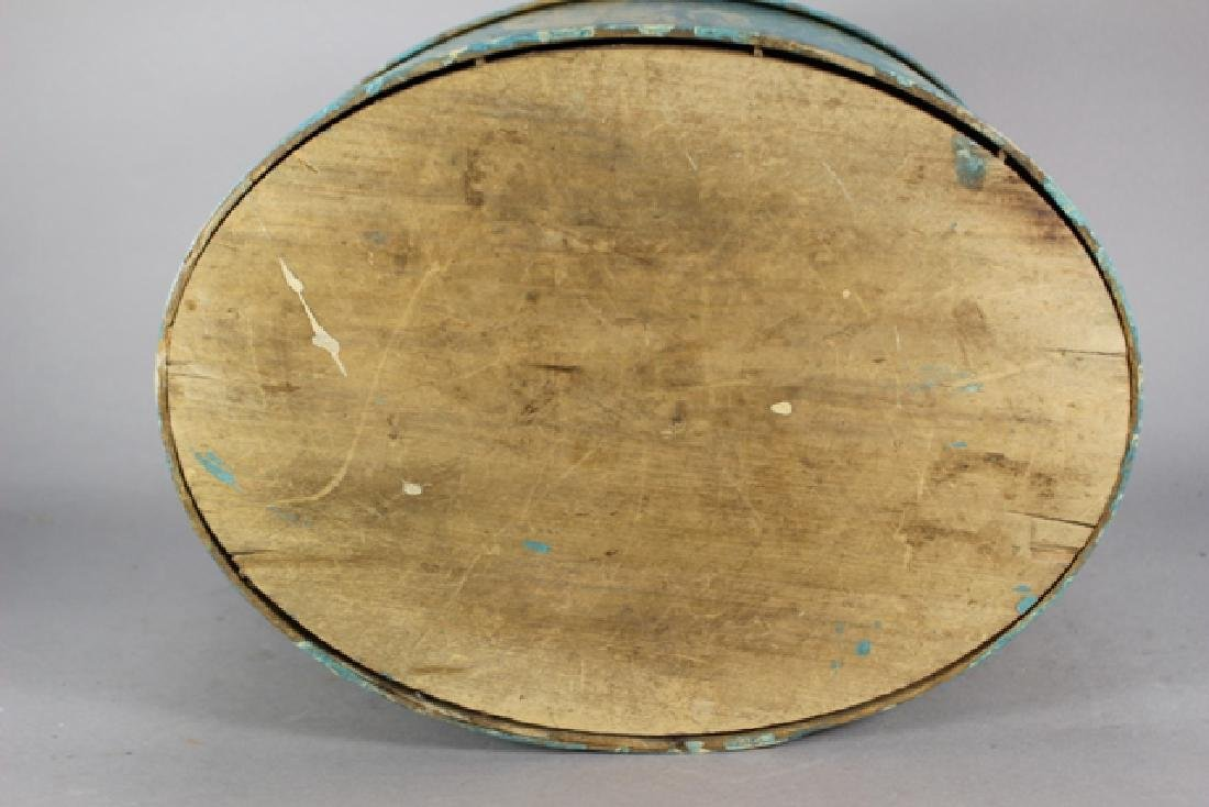 ca. 1850 Over Painted Bandbox - 4