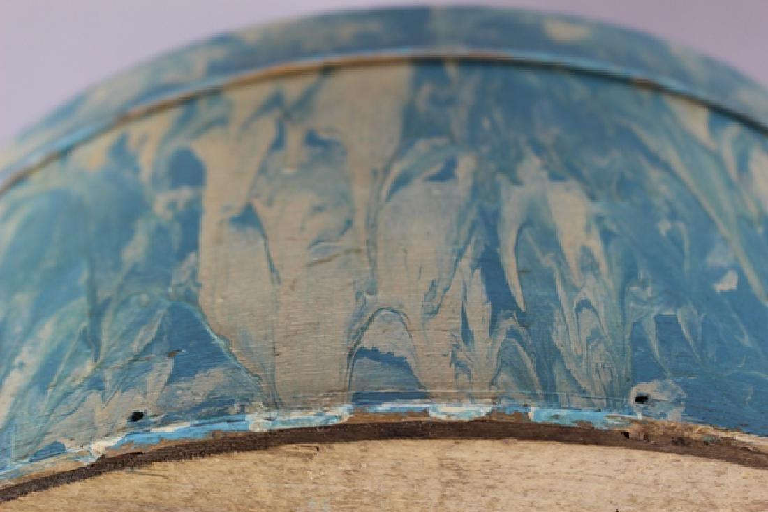 ca. 1850 Over Painted Bandbox - 5