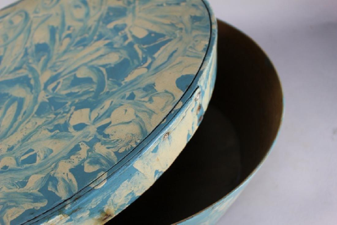 ca. 1850 Over Painted Bandbox - 7
