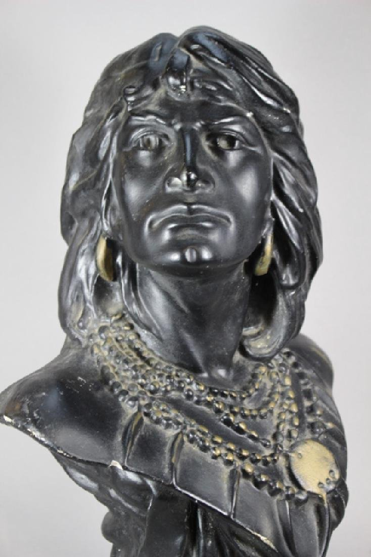 Vintage Cigar-Store Indian Statue of HIAWATHA - 2