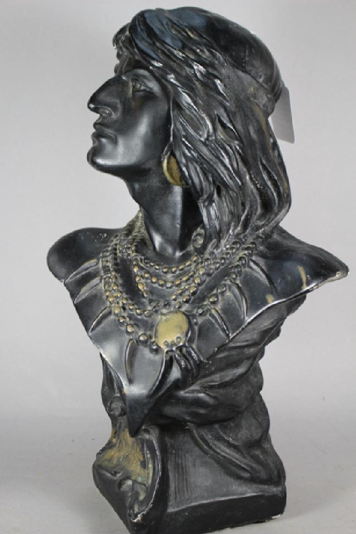 Vintage Cigar-Store Indian Statue of HIAWATHA - 4