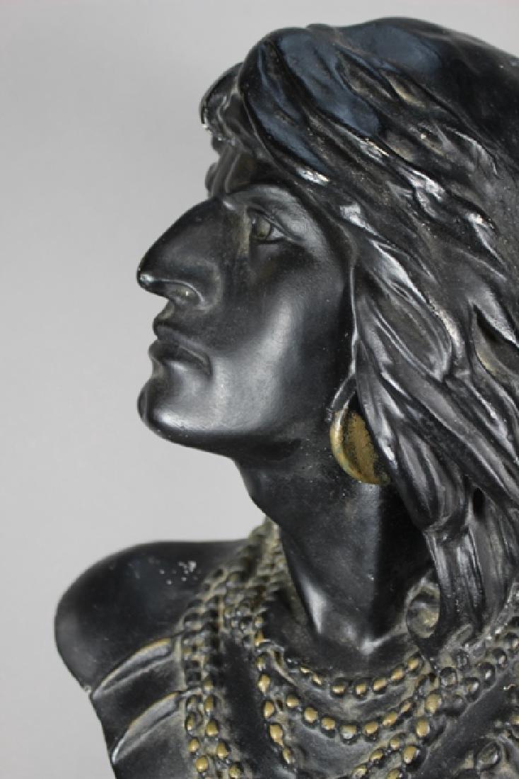 Vintage Cigar-Store Indian Statue of HIAWATHA - 5