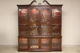 Hendredon Chinese Chippendale Style China Cabinet