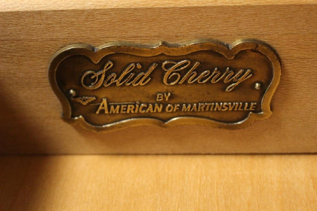 Matching American Martinsville Bonnet Top Highboys - 10