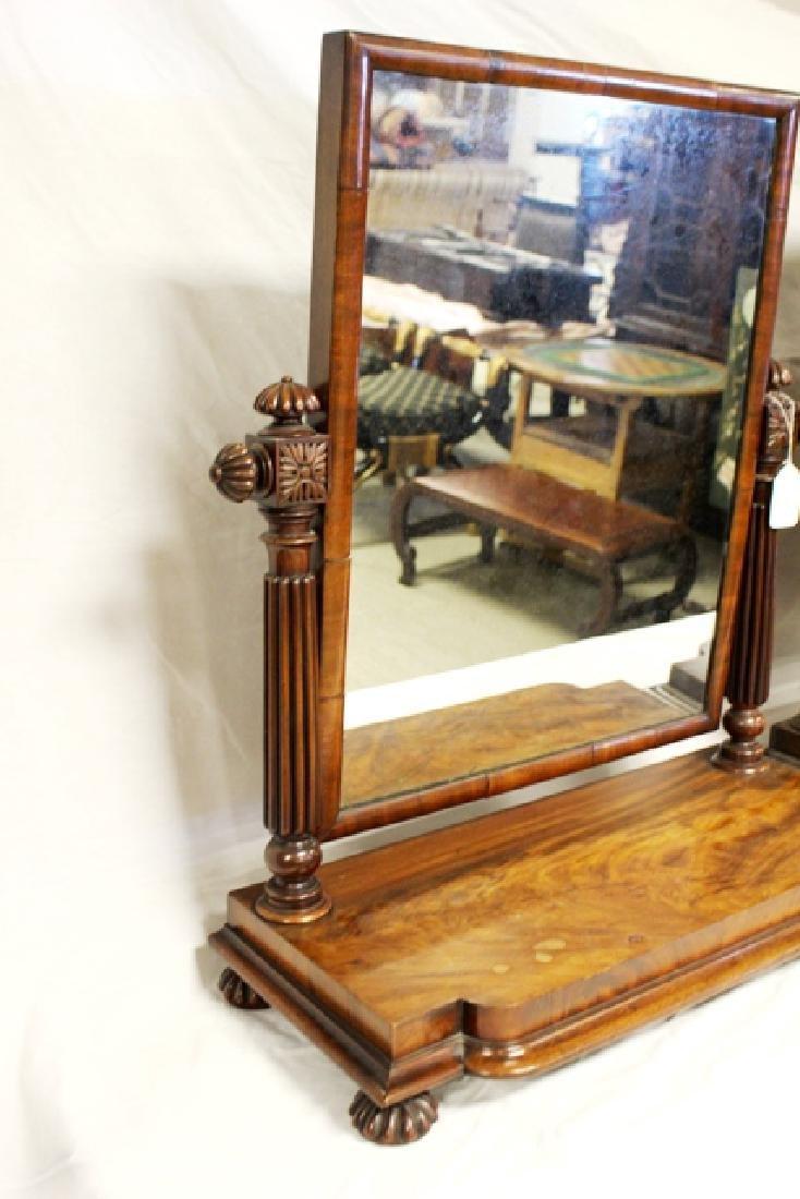 Pair of ca. 1800 Regency Mahogany Mirrors - 6