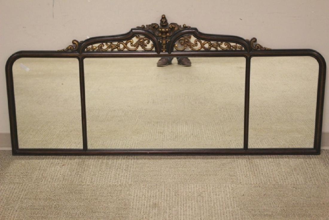 19th Century Mahogany Mirror Three-Part