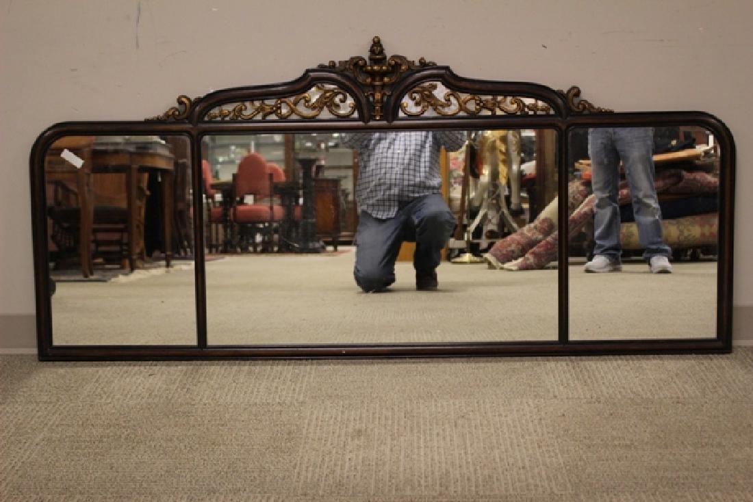 19th Century Mahogany Mirror Three-Part - 2