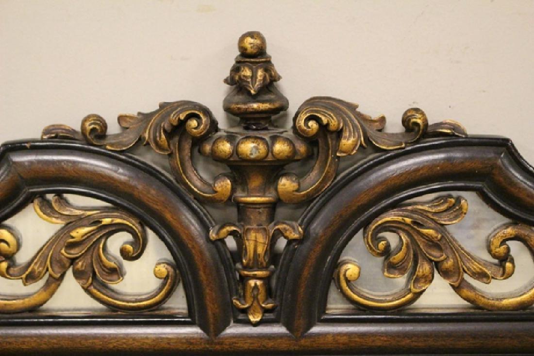 19th Century Mahogany Mirror Three-Part - 4