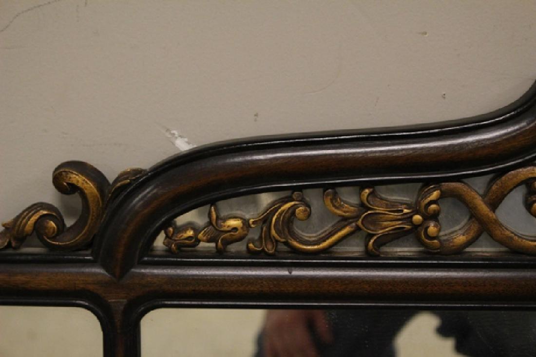 19th Century Mahogany Mirror Three-Part - 5