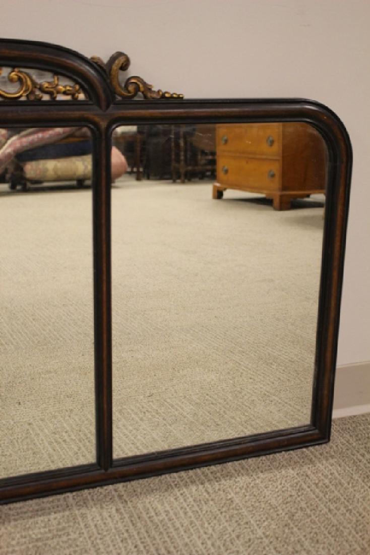 19th Century Mahogany Mirror Three-Part - 6