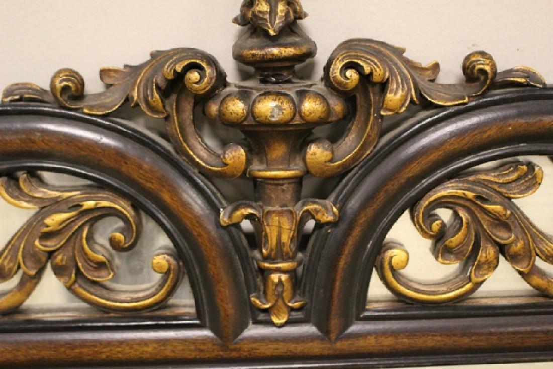 19th Century Mahogany Mirror Three-Part - 7
