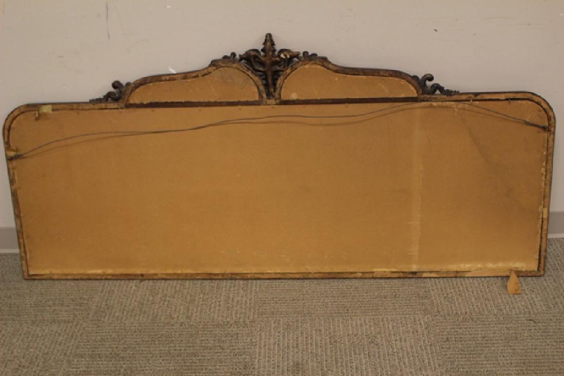 19th Century Mahogany Mirror Three-Part - 8