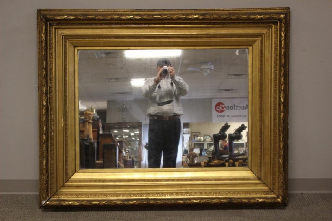 19th century Gilded Gesso Mirror