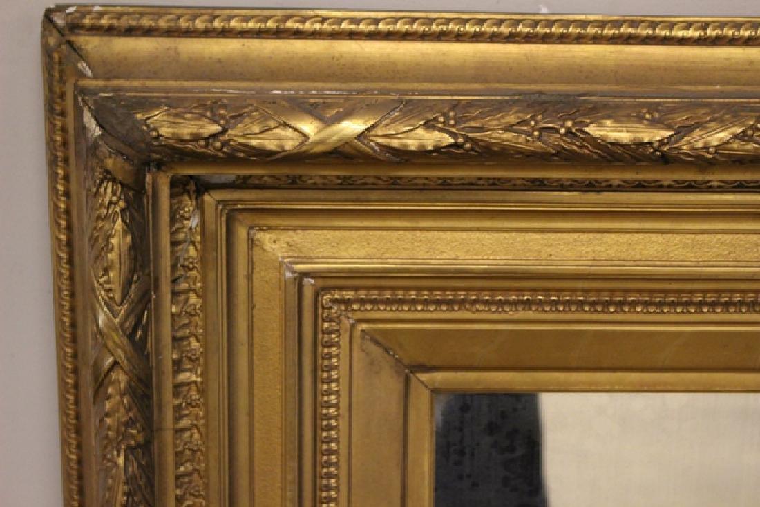 19th century Gilded Gesso Mirror - 4