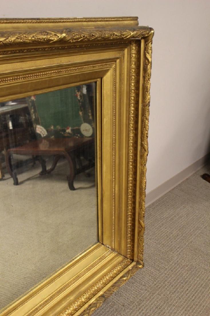 19th century Gilded Gesso Mirror - 5