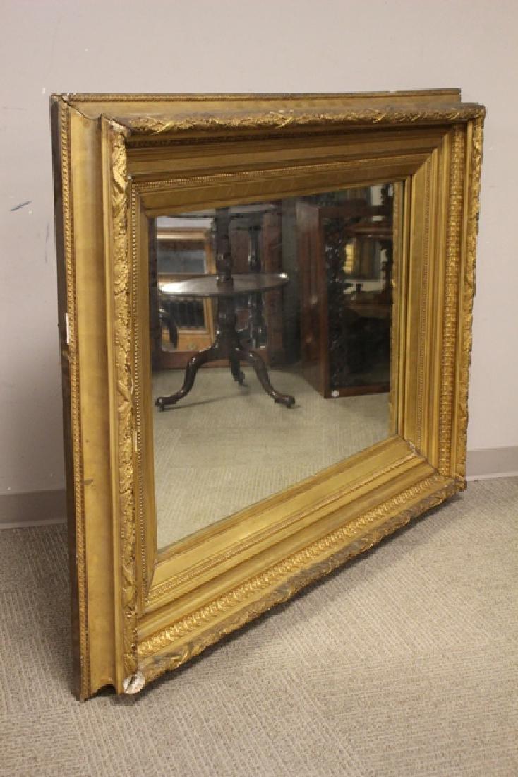 19th century Gilded Gesso Mirror - 7