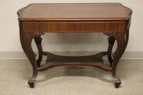 Ca. 1910 Mahogany Library Table