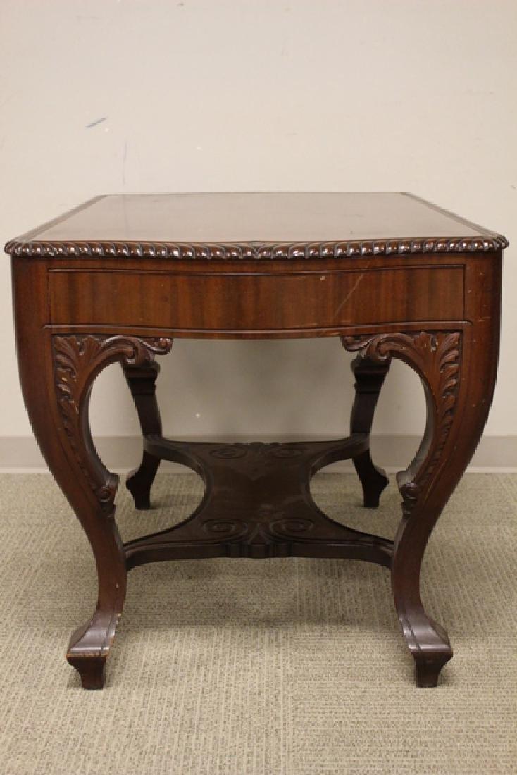 Ca. 1910 Mahogany Library Table - 6