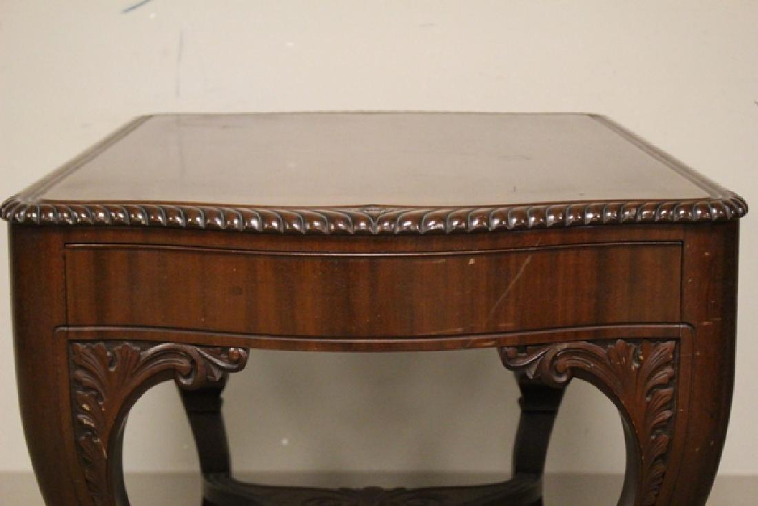 Ca. 1910 Mahogany Library Table - 7