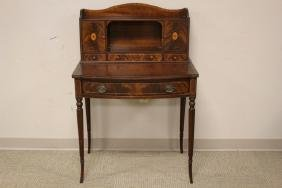 Inlaid Mahogany Ladies Writing Desk