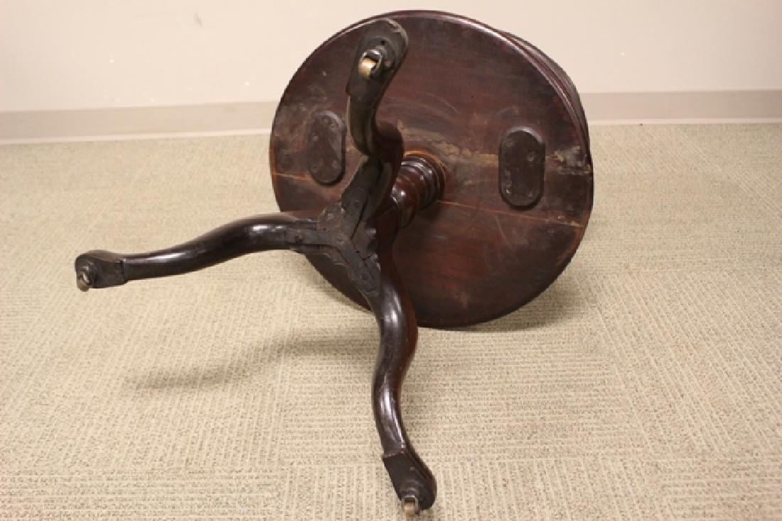 19th Century Mahogany Three Tier Dumbweighter Table - 8