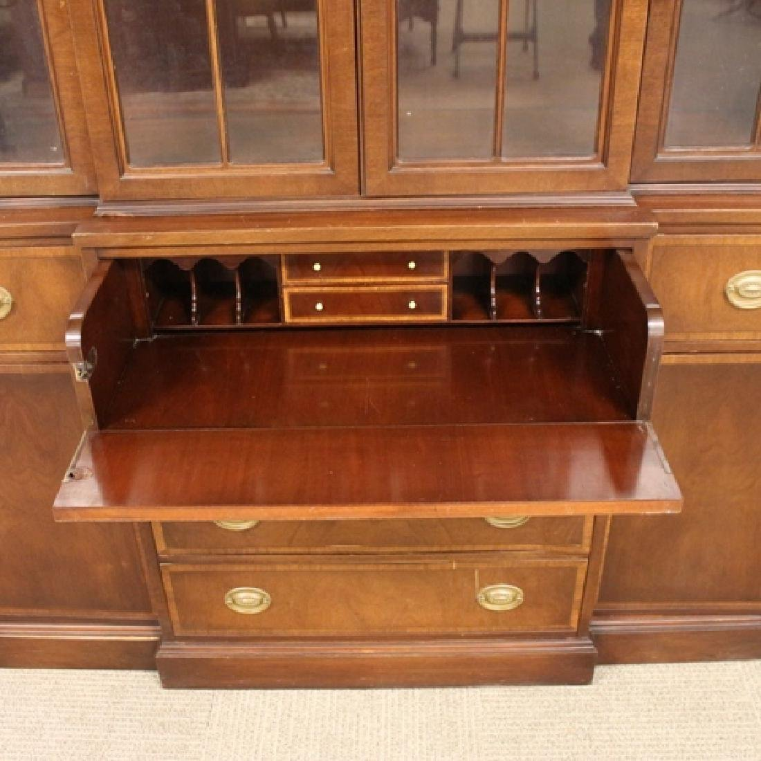 Mahogany Banded Johnson Furniture Co. Breakfront - 4