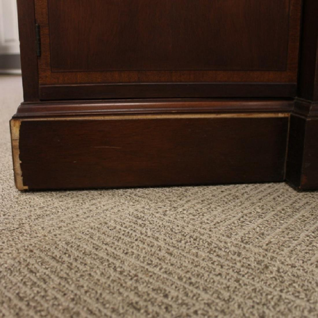 Mahogany Banded Johnson Furniture Co. Breakfront - 6