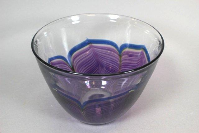 Zellique Studios Art Glass Jardiniere and Bowls - 2