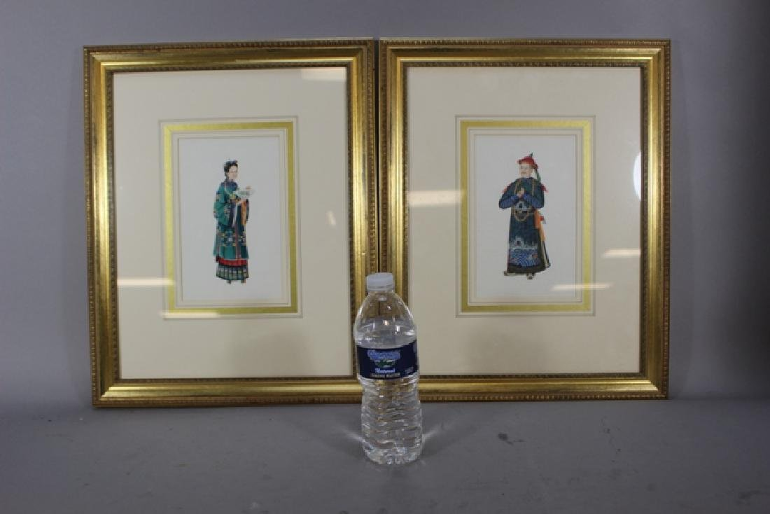 Two Framed Chinese Figure Studies - 6