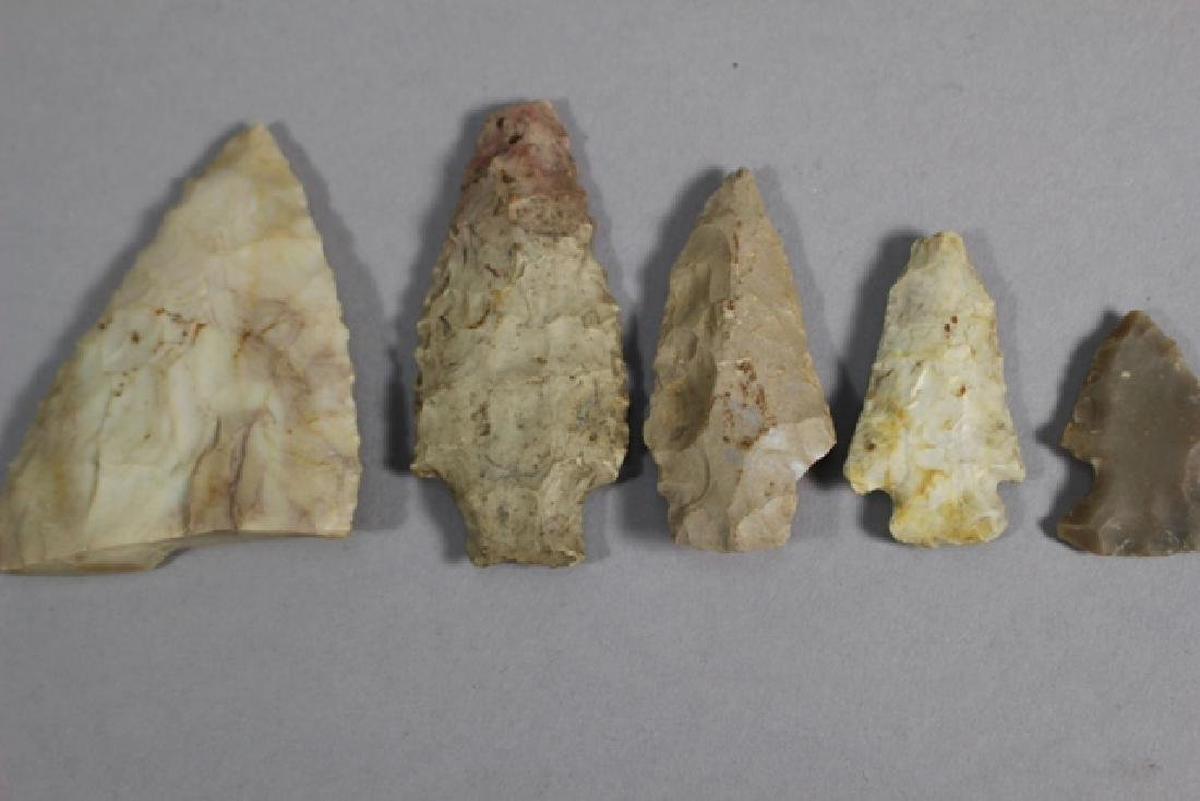 Lot of 48 Native American Arrowheads and Points - 3