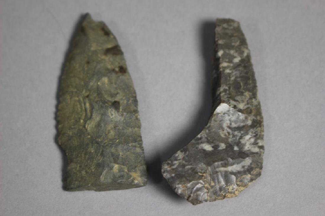 Lot of 48 Native American Arrowheads and Points - 5