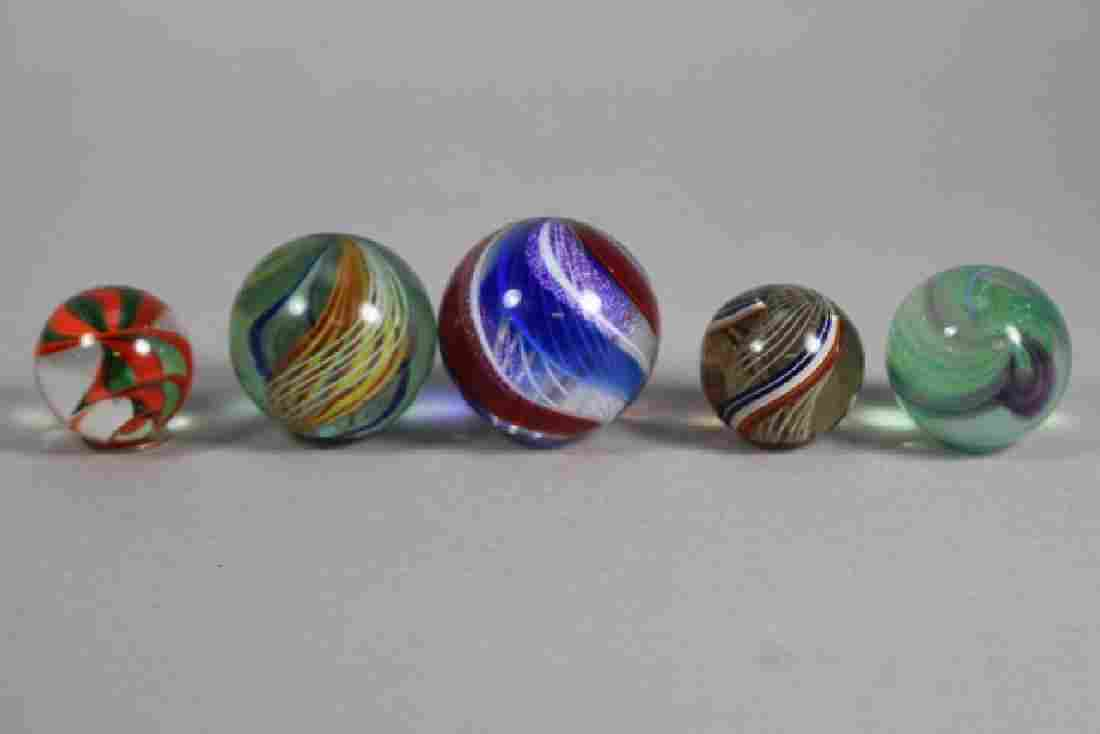 Ferguson and Other Vintage Spiral Marbles
