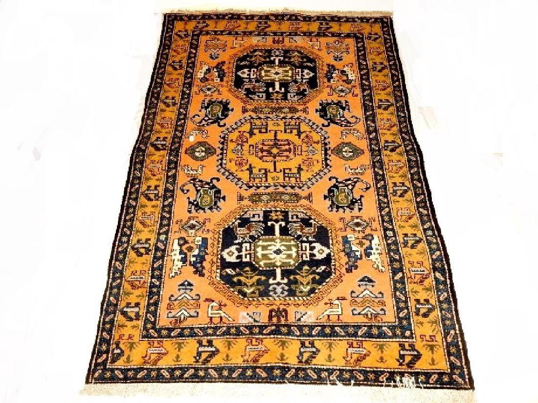 Stunning Semi-Antique Persian Kazak