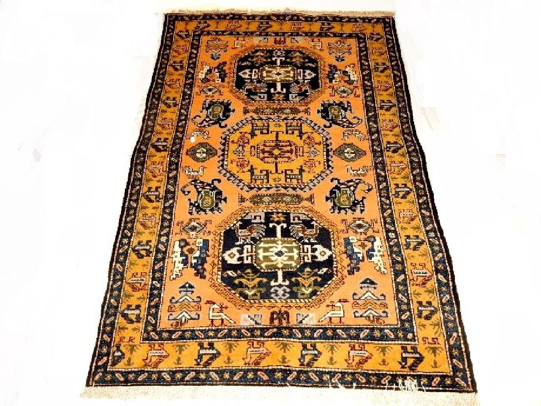 Stunning Semi-Antique Persian Kazak