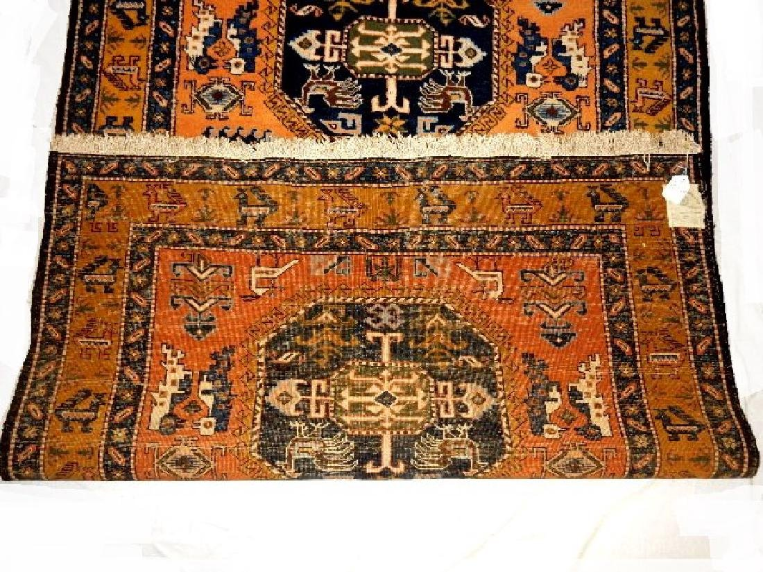 Stunning Semi-Antique Persian Kazak  - 6