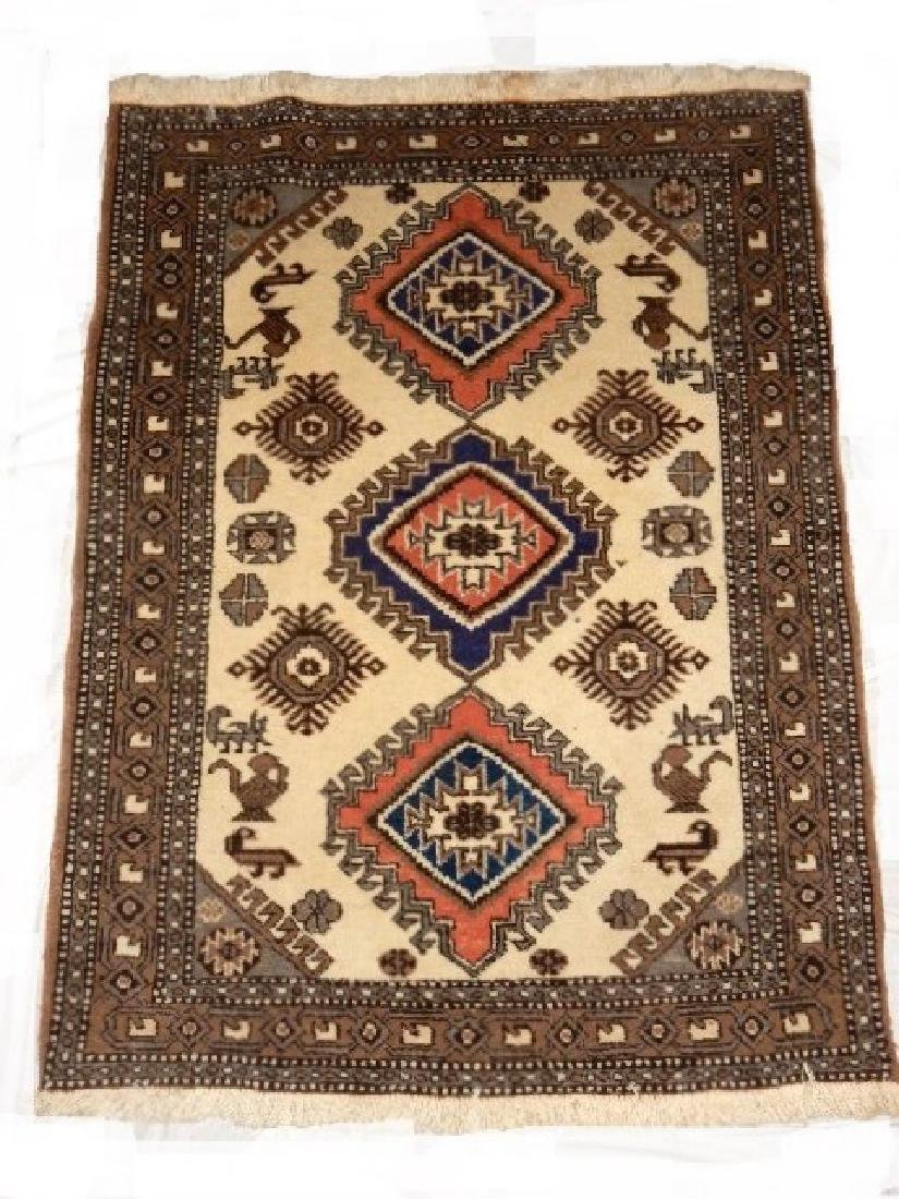 Kazak Tribal Caucasian Carpet 20th.C.