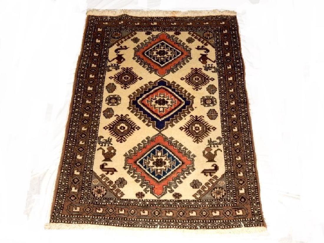 Kazak Tribal Caucasian Carpet 20th.C. - 2