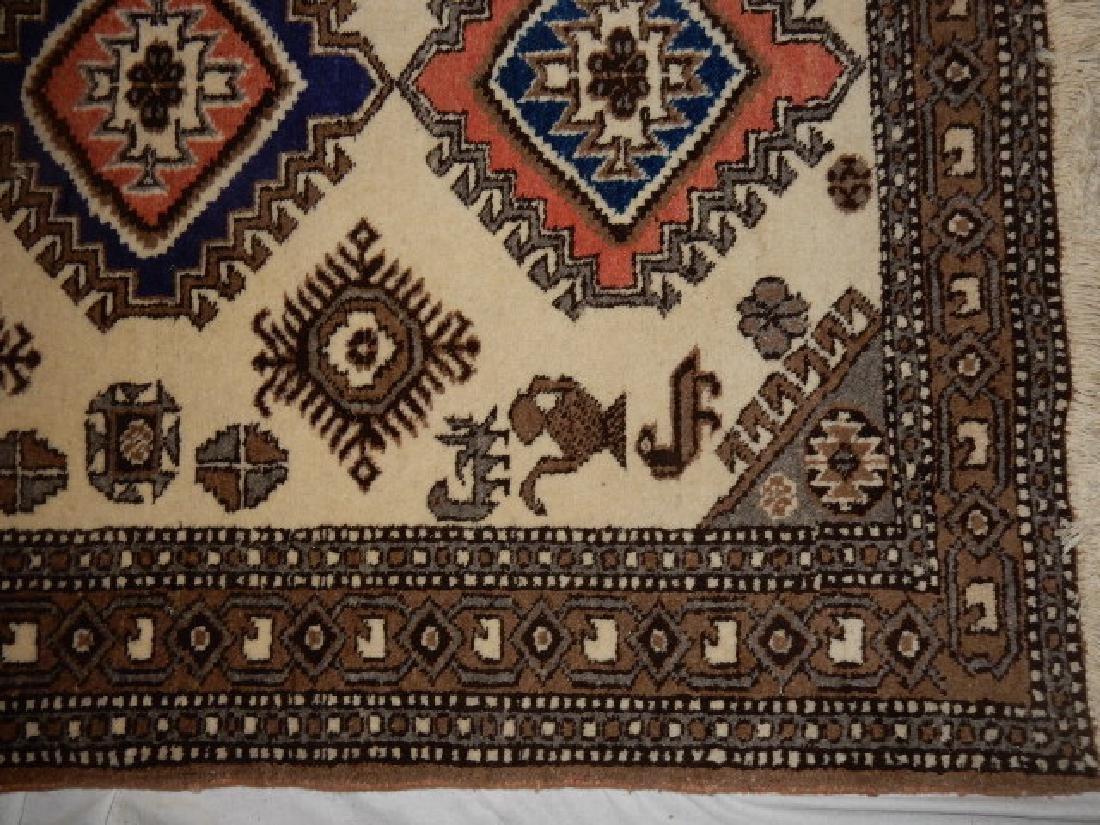 Kazak Tribal Caucasian Carpet 20th.C. - 3