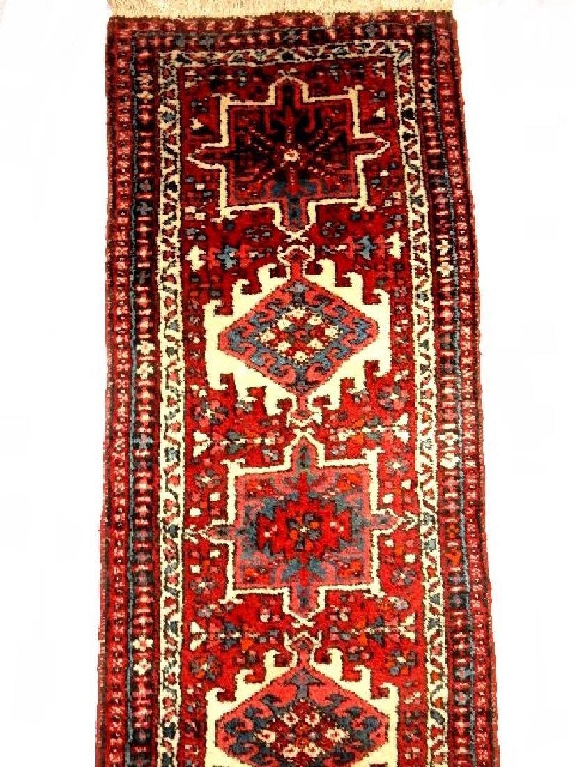 Semi Antique Persian Karajeh Heriz Rug - 2