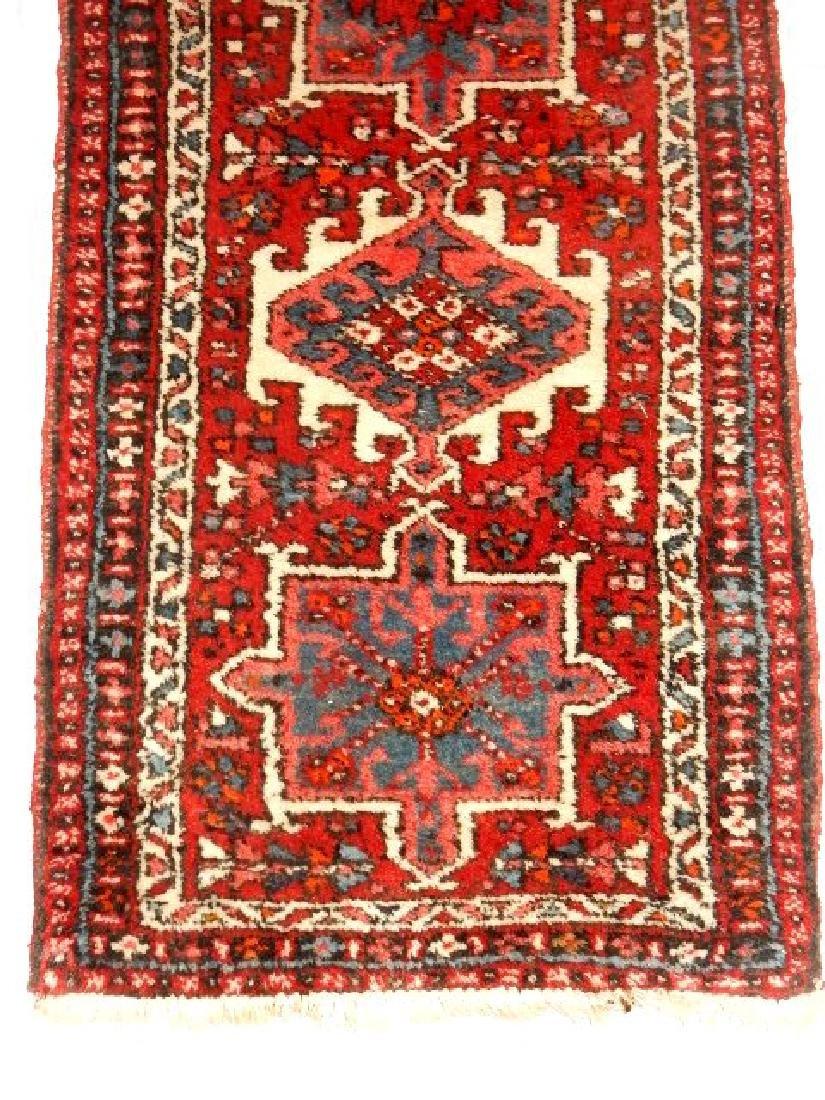 Semi Antique Persian Karajeh Heriz Rug - 3