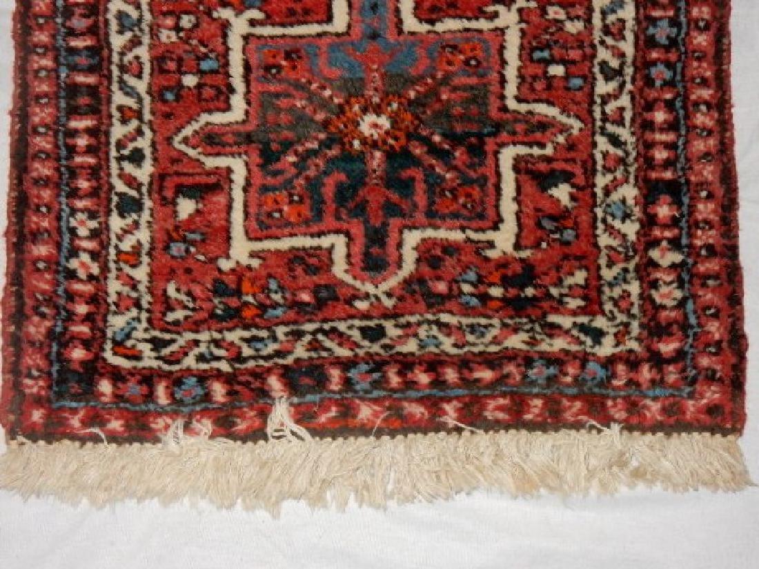 Semi Antique Persian Karajeh Heriz Rug - 6