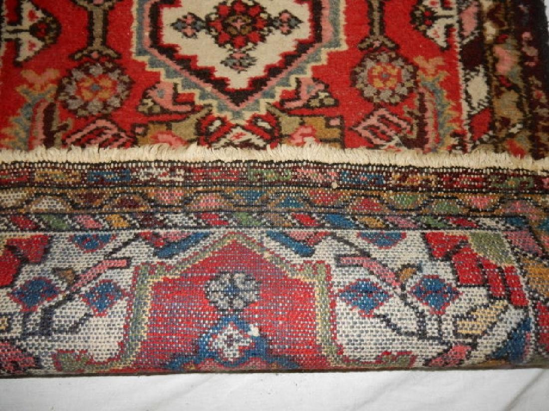 Semi Antique Persian Rug - 5